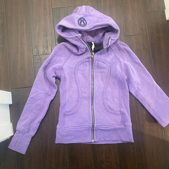 Limited edition lavender lululemon scuba hoodie